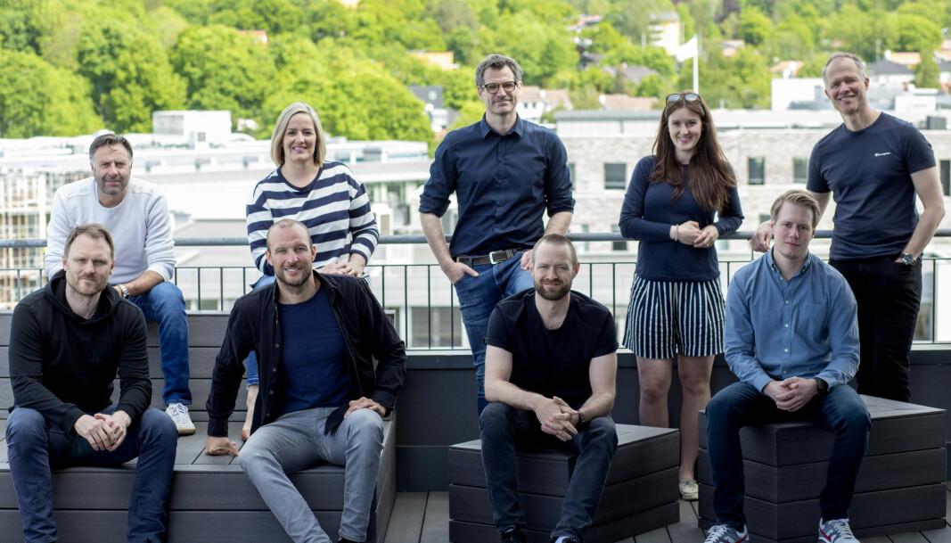 Teamet bak investeringsselskapet Norselab.