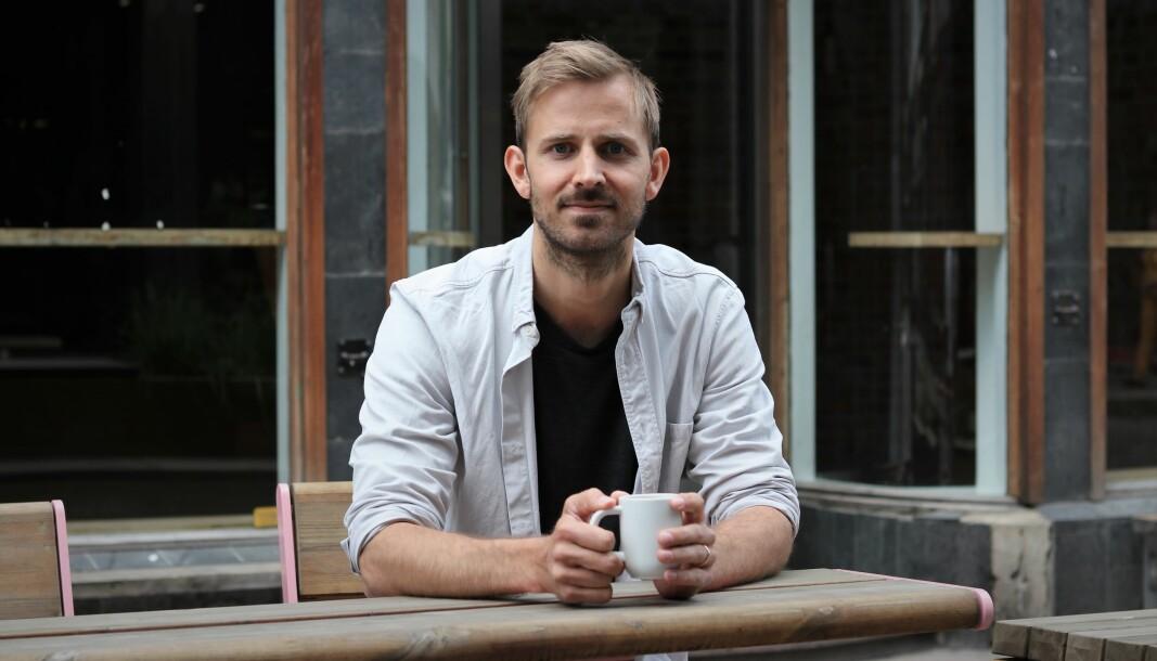 Anders Mjåset skulle gjerne holdt lysene på i hele Mesh, og håper å være tilbake i Tordenskiolds gate 3 snart.