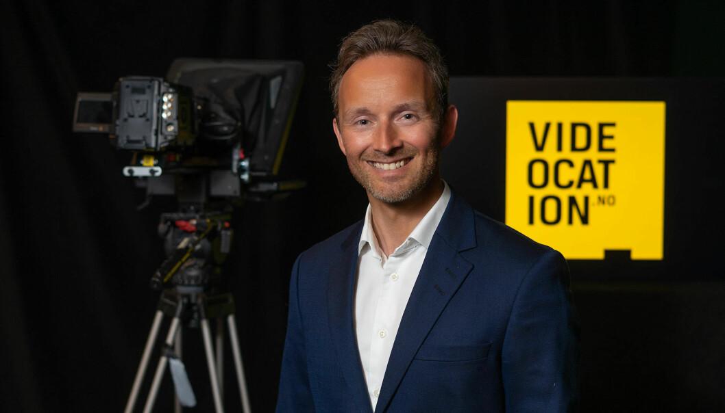 Administrerende direktør Marius Olsen i Videocation.