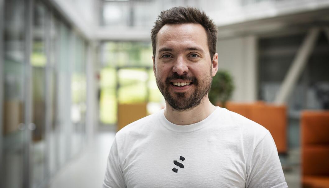 "Gründer og CTO Carl ""Calle"" Christensen i Spacemaker."