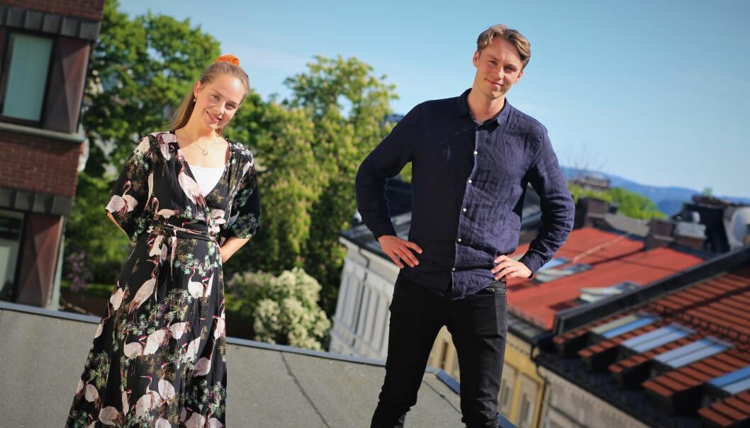 CEO i Codeandgo, Urte Sniaukstaite, og CEO i Learnlink, Jonas Hyllseth Ryen, slår sammen kreftene for å lage kodekurs for barn i sommer