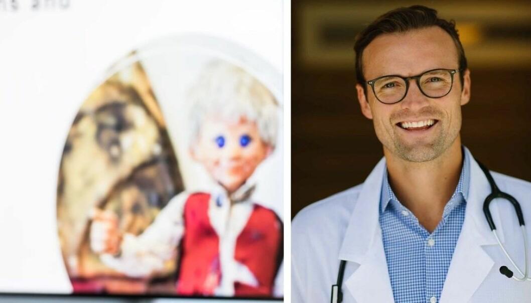 Lege og daglig leder i Dr. Dropin, Daniel Sørli, skal utvide med seks klinikker i år. Hovedeier Askeladden vannes ut.