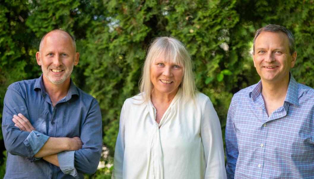Johan Gjesdahl, Bente Loe og Arne Tonning i Alliance Venture.