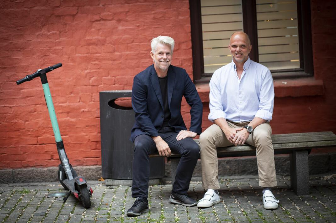 Roger Slinning (t.v.) og Rune Olsen Arneberg.