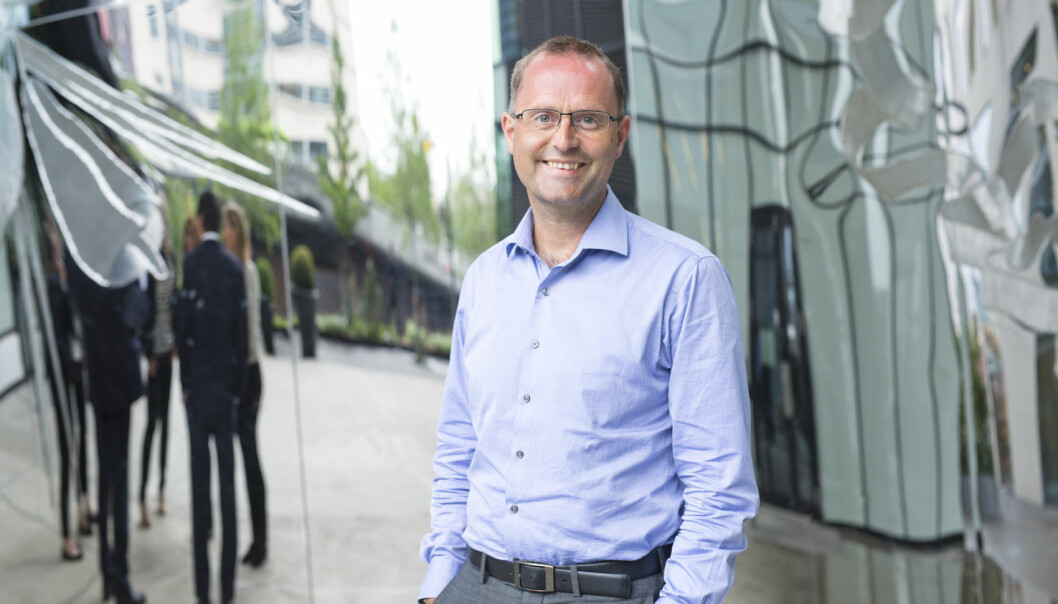 Lars Erik Fjørtoft, fintech-ekspert i PwC.