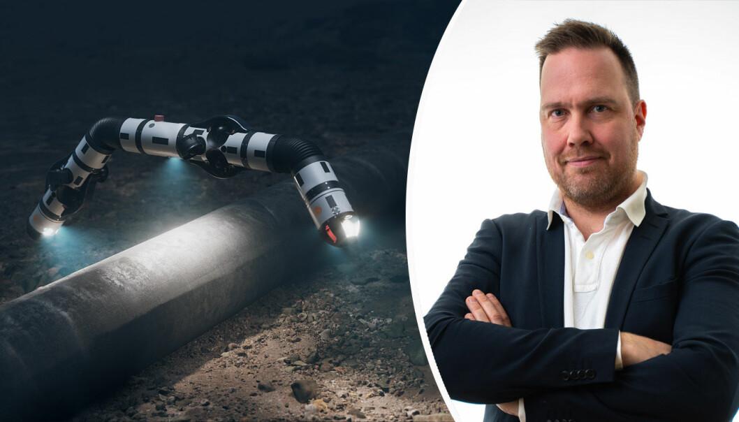 Klyngeleder Frode Halvorsen i Trondheimsbaserte Ocean Autonomy Cluster.