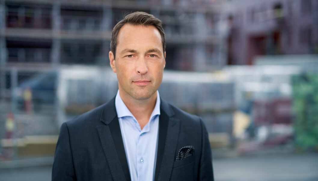 Johan Bruun, administrerende direktør i Usbl.