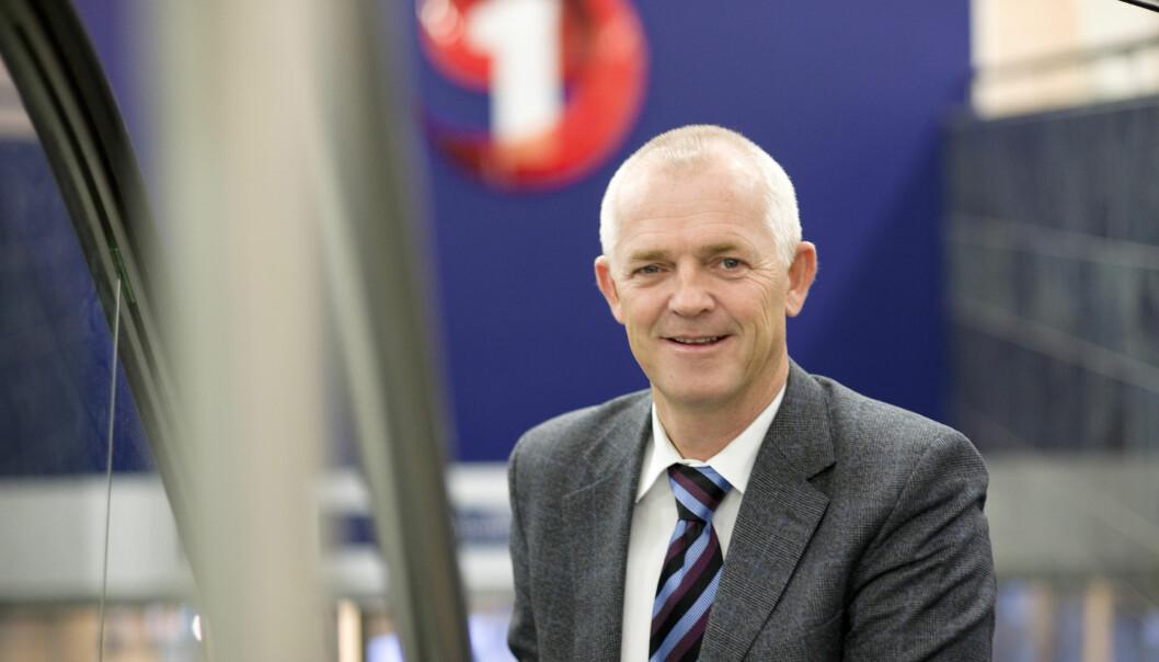 Øyvind Aass, administrerende direktør i Sparebank 1 Utvikling.