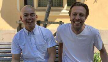 Tim Nguyen (salgssjef) og Axel Sjøstedt (daglig leder og medgründer).
