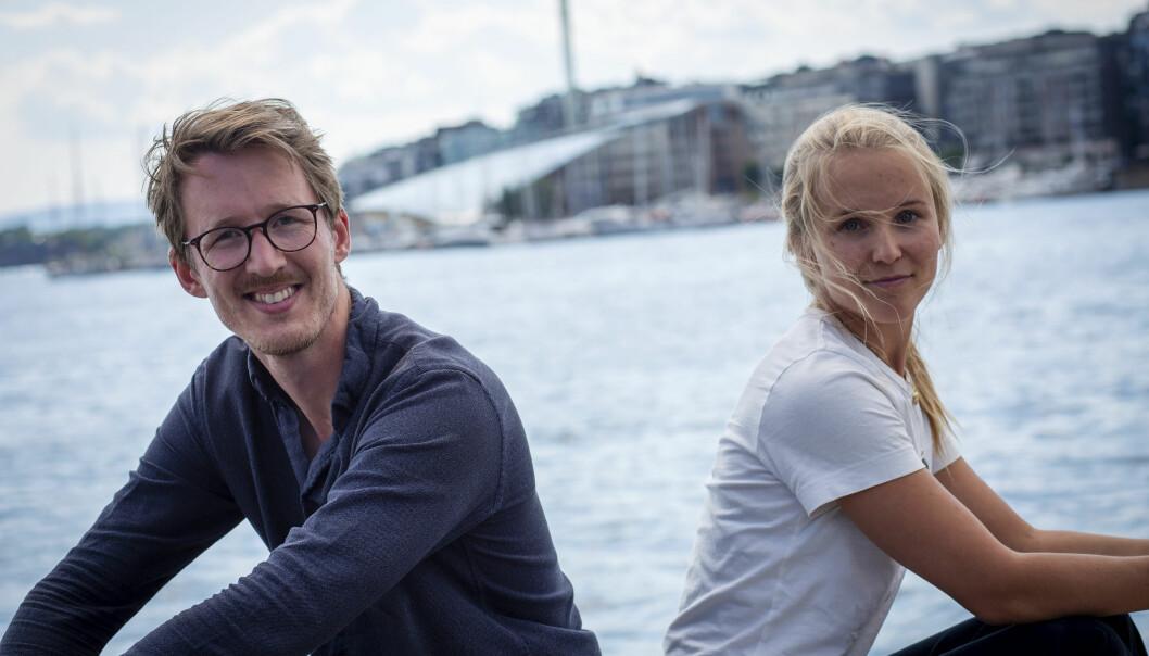 Gründer Kristian Fallrø og Christine Spiten.