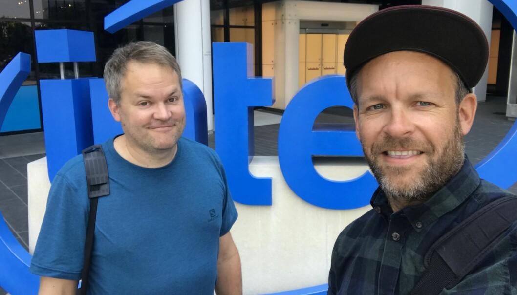 Stian og Peder Børresen står bak selskapet Holocap