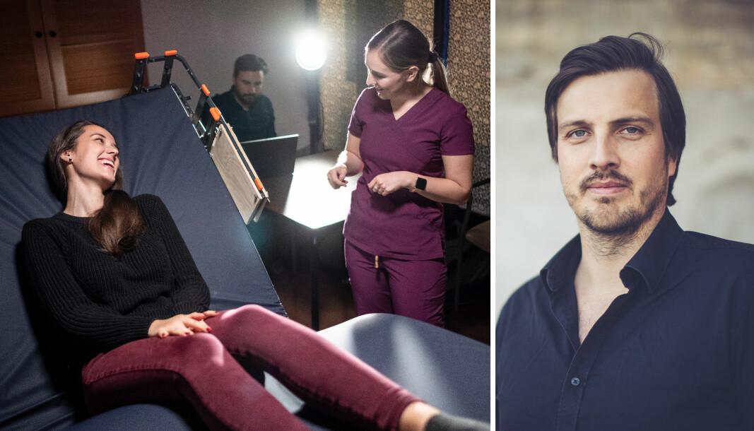 Medgründer og CEO Kjell Are Furnes forteller at Ably Medical sin smarte seng har fått økt relevanse i corona-tiden.