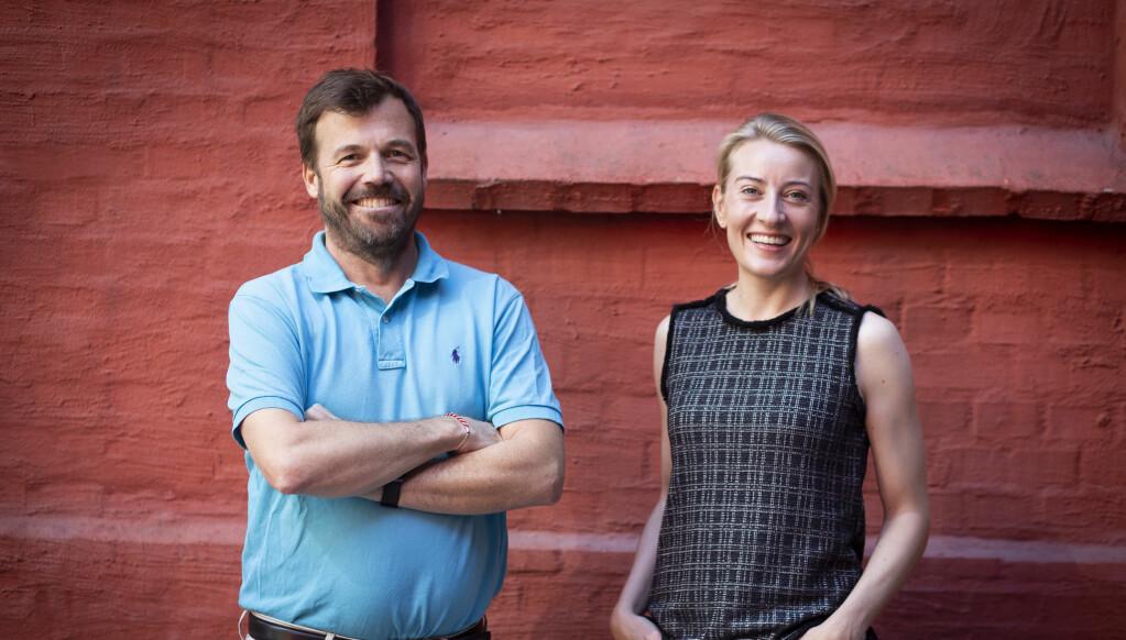 Pål T. Næss fikk inn tidligere kollega Julie Ryland fra Innovasjon Norge til selskapet tidligere i år. Nylig besøkte de Shifter for å fortelle om den siste utviklingen.