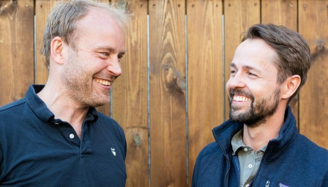 CEO, Halvor Sannes Lande og CFO, Kjetil Barli ser lyst på fremtiden