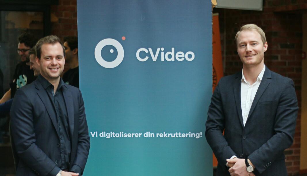 Carl Erik Thomsen og Christer Hafslund etablerte CVideo i 2014. To år senere fikk de sin første kunde, og nå går butikken endelig i pluss.
