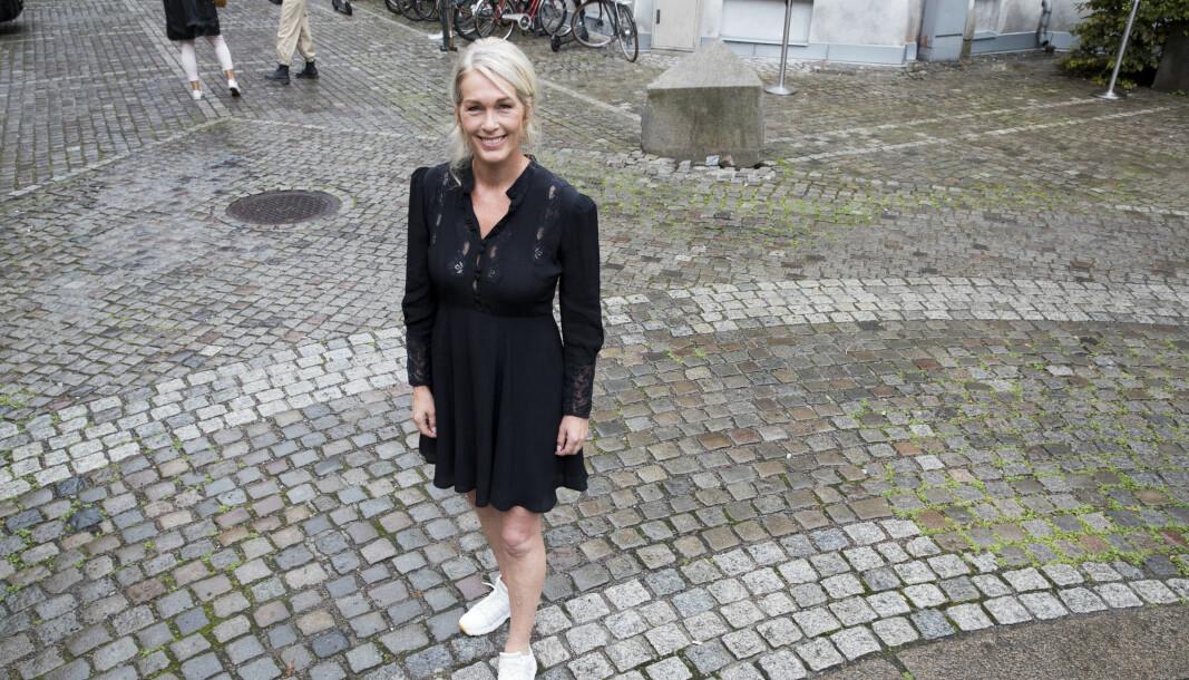 Anita Krohn Traaseth fra bokslipp på Ashehoug i fjor høst. Foto: Terje Pedersen / NTB scanpix