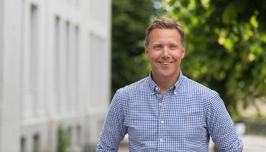 Husleie.no-gründer Kjetil J. Olsen.