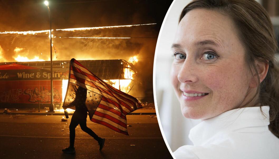 Gro Eirin Dyrnes skriver fra et USA i krise.