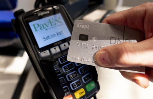 Rekordvekst i bruk av betalingskort i Norge