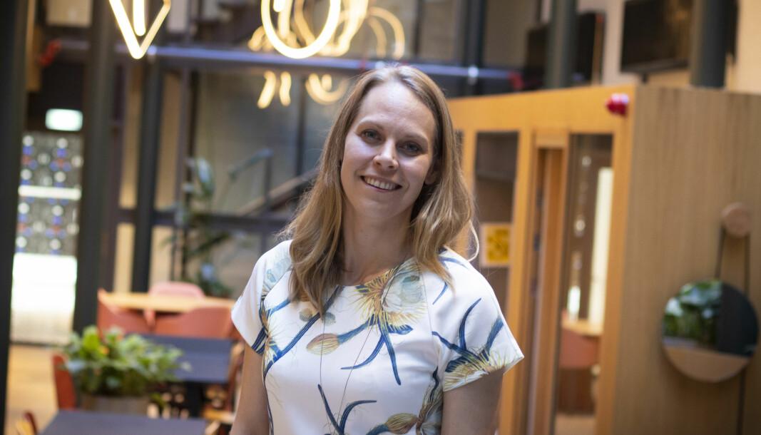 Ingrid Ødegaard i Whereby forteller om tiden under corona-krisen.