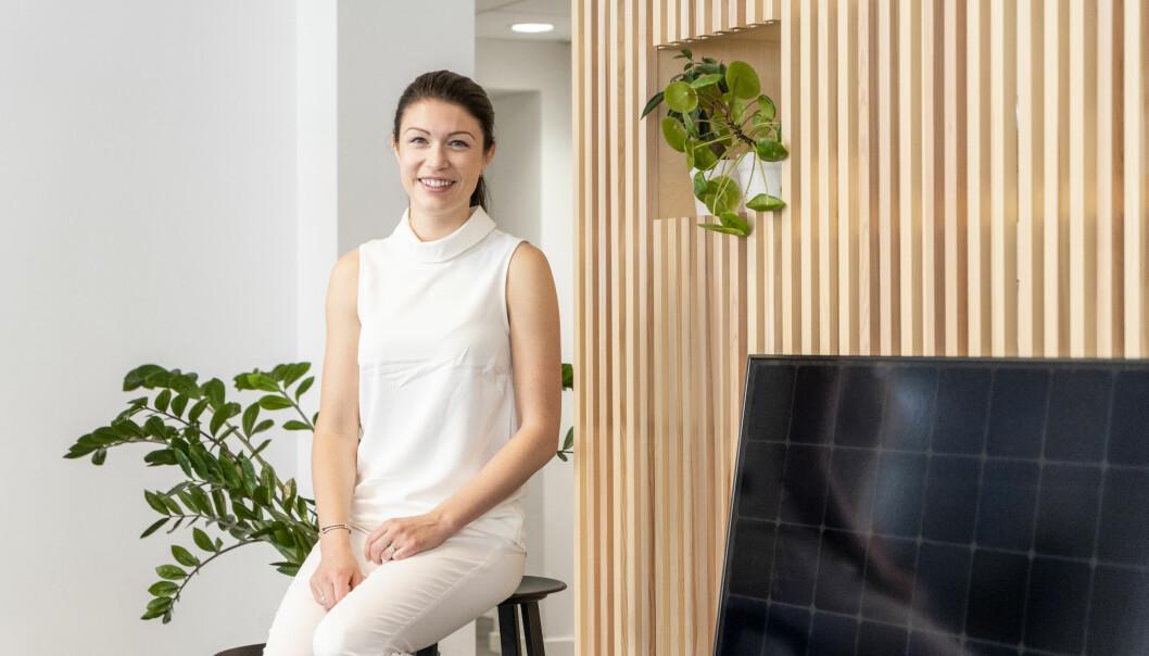 Cecilie Weltz, CFO i Otovo, skal lede nye European Distributed Energy Assets (EDEA).