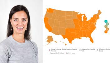 Elleville besøkstall på Unacast-kart: Nå vil ny teknologisjef visualisere mer data