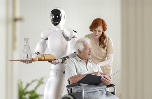 Robot-gründerne måtte hele tiden forklare folk at Eve ikke skulle erstatte menneskelig kontakt: Pandemien snudde alt opp ned