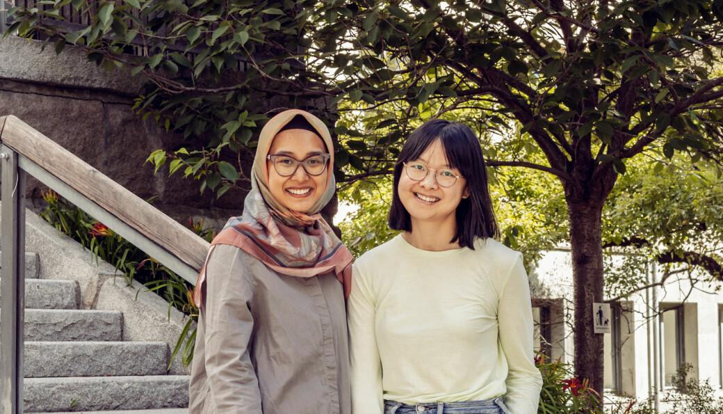 Puteri Myrasandri, COO og Jessica Li, CEO i Savvie