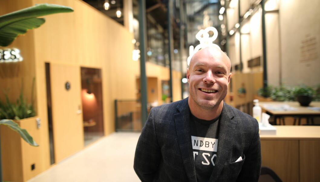 Frederik Aune Guttormsen er CMO i Netthandelsgruppen AS.