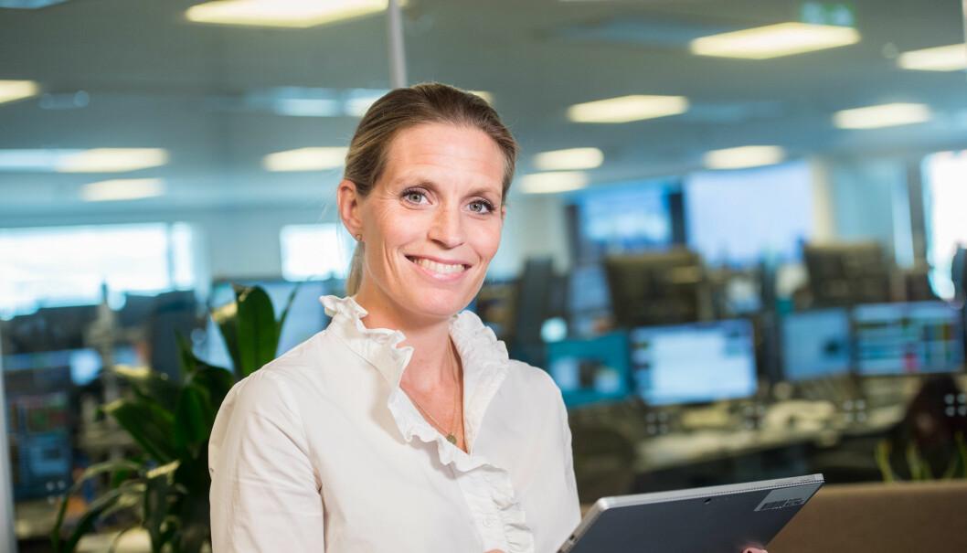 Johanna Herbst, CDO i Danske Bank.