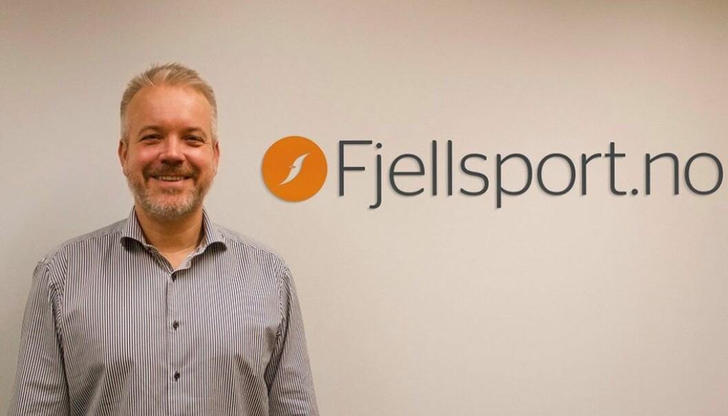 Eric Sandtrø, gründer og daglig leder av Fjellsport.no.