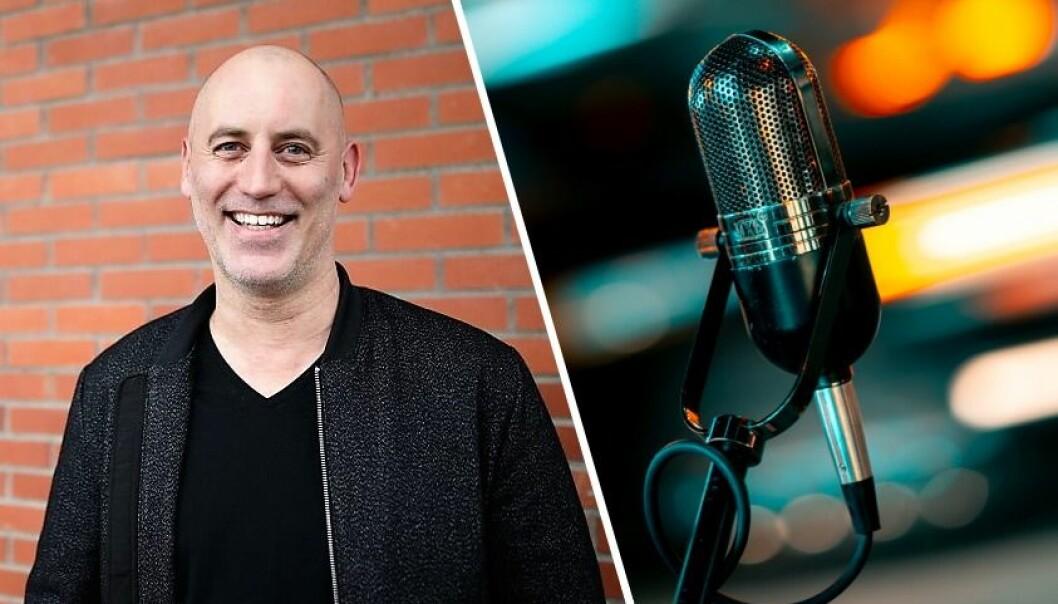 Jonas Rinde vil revolusjonere produksjon av lyd til historiefortelling med selskapet Nomono. De skal produsere både software og hardware. Mikrofonen avbildet er et illustrasjonsbilde.