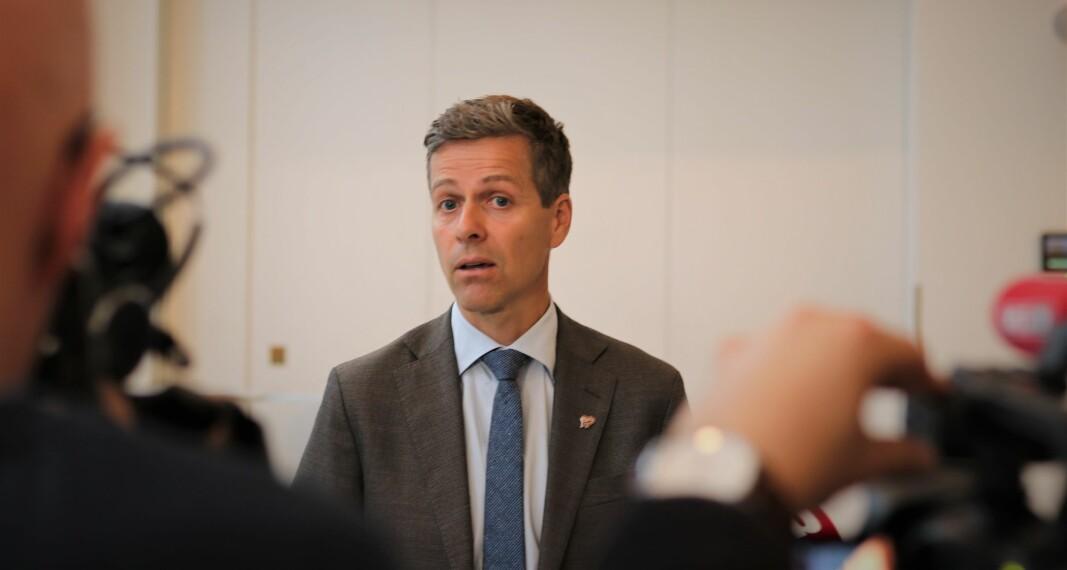 Samferdselsminister Knut Arild Hareide