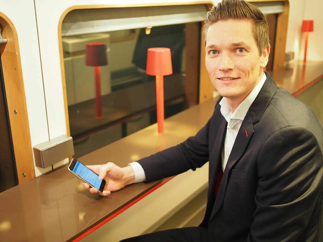24SevenOffice, her ved CEO Staale Risa, kjøper seg inn i banksektoren.
