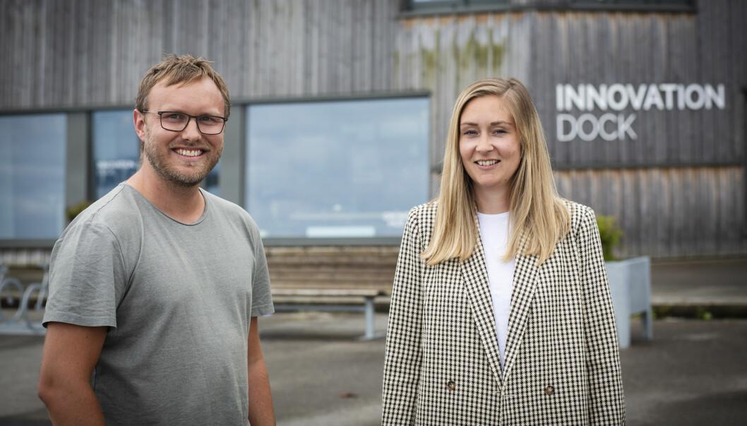 Stavanger-duoen Nils-Henrik Stokke og Pia Warland ekspanderer.