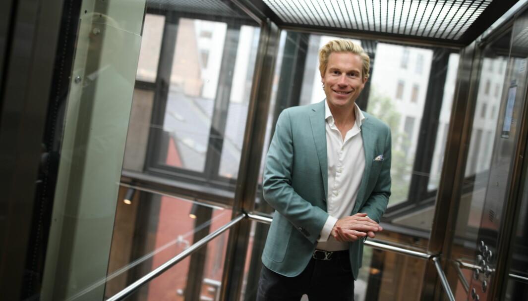 Christoffer Hernæs er avtroppende CDO i Sbanken.