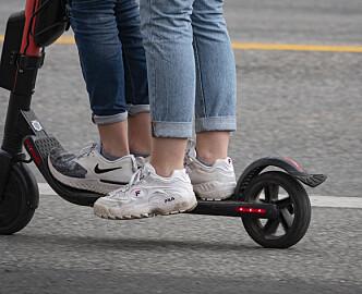 Elsparkesyklister bøtelagt i Oslo