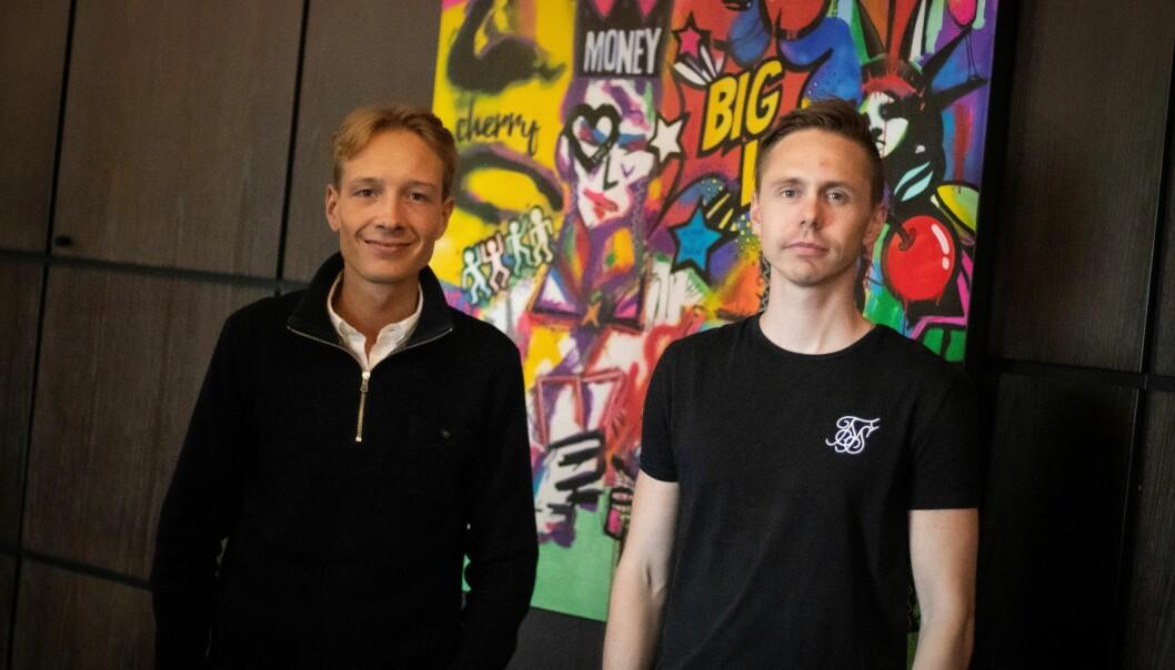 Kristoffer Kingsrød og Christoffer Bølla Riseng har pivotert med Requestify og lager digital konsert-arena