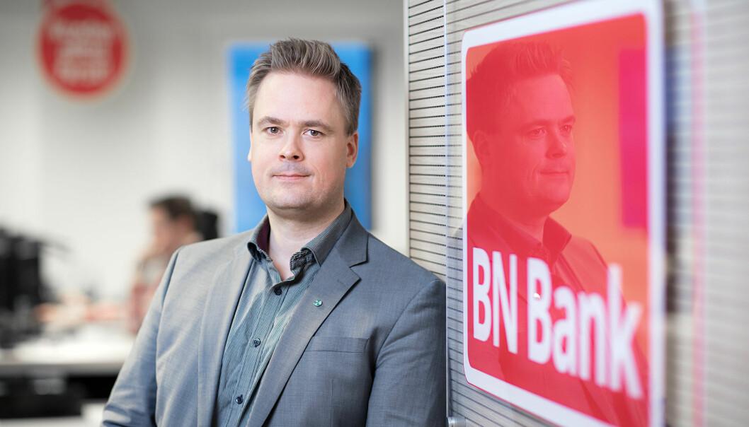 Endre Jo Leite er direktør for personmarked i BN Bank