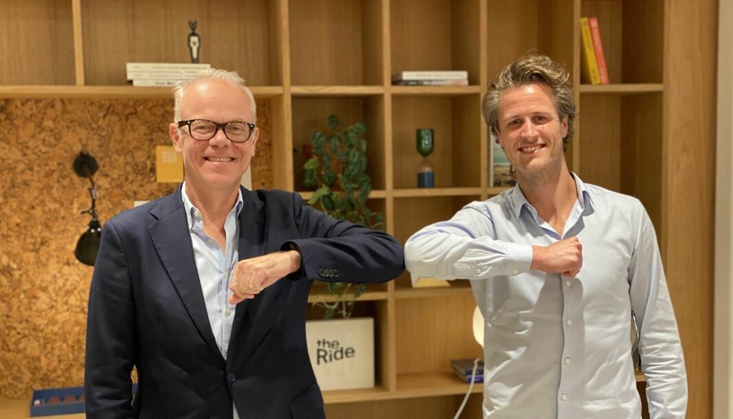 Tidligere Google Norge-sjef Jan Grønbech skal hjelpe Ordr og Edwin Fjeldtvedt med videre vekst
