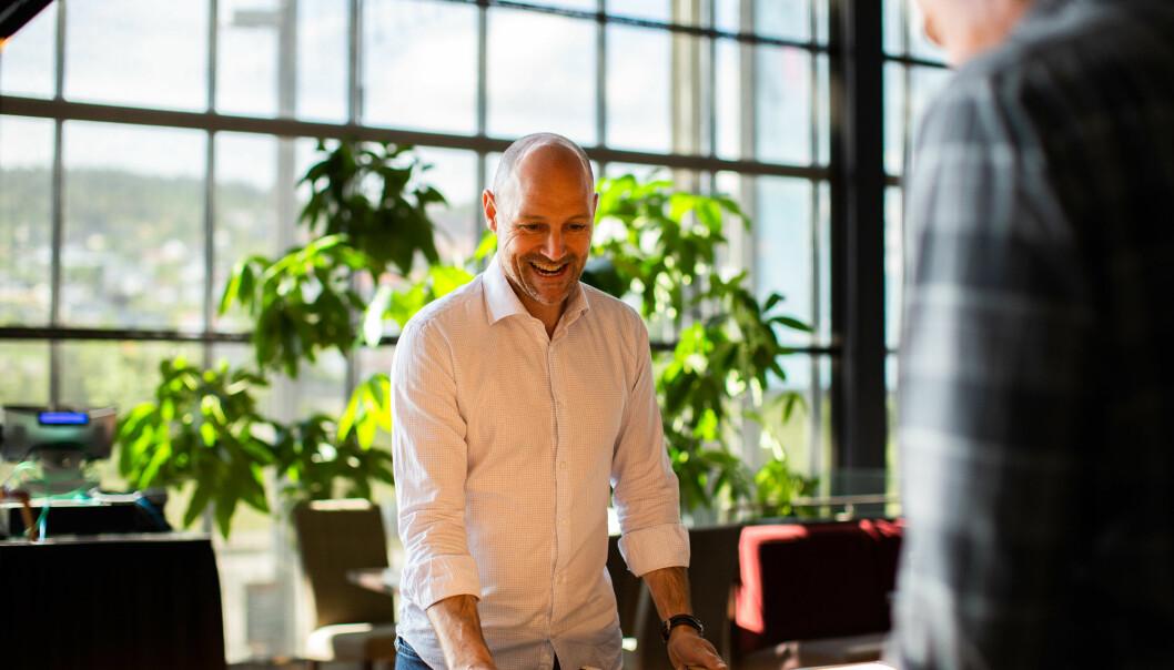 INTERESSANTE STARTUPS: Mange av startupsene har spennende løsninger på utfordringer i samfunnet, mener Kenny Hognestad.