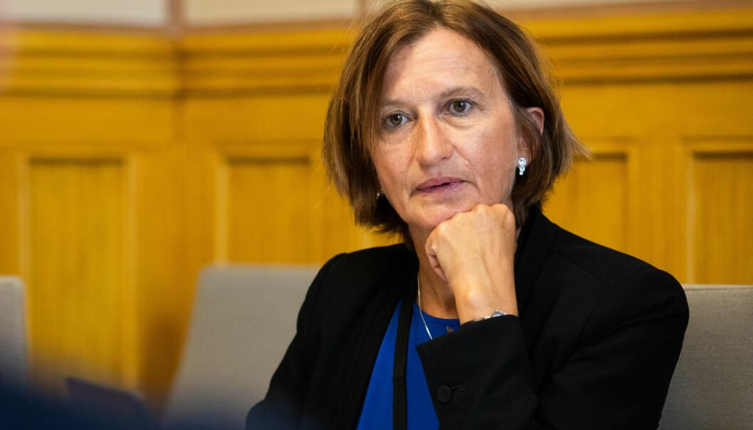 Direktørens ledermøte (DLM) med Stortingets direktør Marianne Andreassen. Foto: Stortinget
