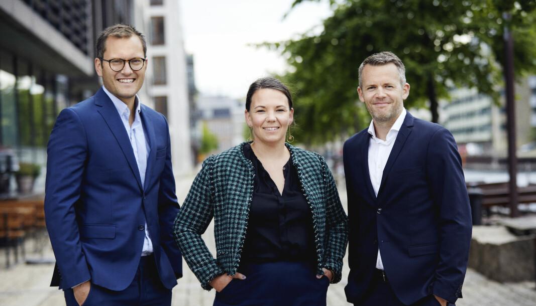 De nordiske lederne i Kameo, i Sverige: Fredrik Källgren, i Norge: Linn Hoel Ringvoll, og i Danmark: Jesper M. Johansen.