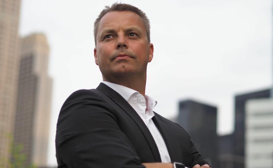 Stian Rustad gründer av 24SevenOffice er klar til å redde satsingen på Optin Bank.