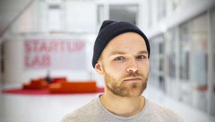 Kjetil Holmefjord i Startuplab.