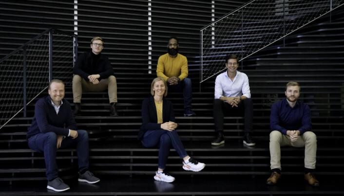 Nyansette i Ignite Procurement (fra venstre): Fredrik Slettestøl, Adrian Stålesen, Ingvill Røed, Anoop Yadav, David Jönsson og Simen Vie.