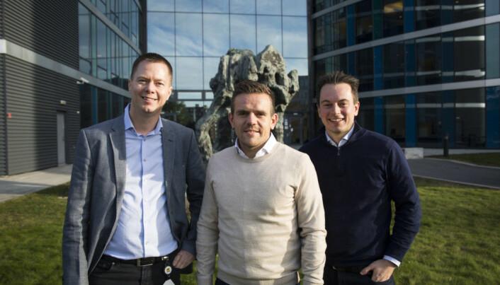 Ragnar Furru i AF Gruppen er blant de som har falt for Børge Langedal og Sigbjørn Nome sin innkjøpsplattform.
