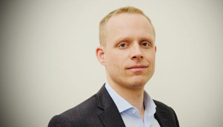Daglig leder Bård Myrstad i Simplifai.