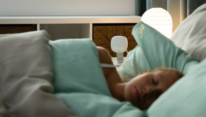 Søvnmonitoren til VitalThings, Somnofy, er kontaktløs.