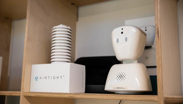 Mange suksesfulle oppstratsbedrifter skrudde sammen sine første prototyper hos StartupLab. Her representert ved Airtight og No Isolation.